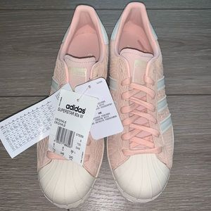 Adidas Superstar 80s Blush Pink Sneakers